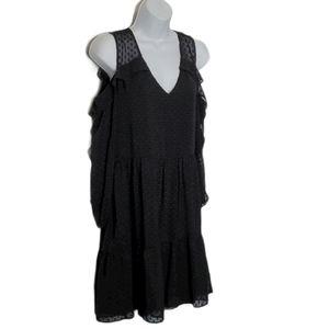 Lysse Cold Shoulder Tiered Dress